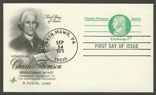 #UX68 7c Charles Thomson, Art Craft FDC **ANY 4=FREE SHIPPING**