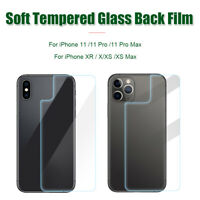 Screen Protector Back Protective Film For iPhone 11 11 Pro Max XR X XS Max