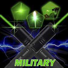 Military Powerful 1mW 532nm Green Laser Pointer Pen Beam Light Burning Lazer 301