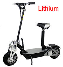 New 2017 Super Turbo LITHIUM 1200 watt CHROME Electric Scooter wholesales