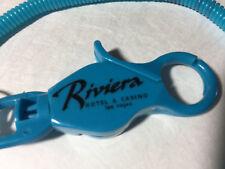 New listing Riviera Hotel & Casino Las Vegas Nevada Players Club Card holder bungee cord