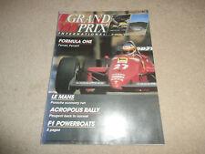 Grand Prix International 1985.F3000.Indianapolis 500.Le Mans.World Rallying.