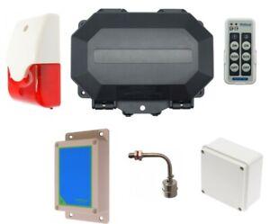 Flood Alarms - Wireless Long Range 800 metre Protect 800 Flood Alarms with Siren