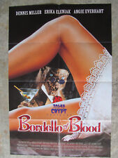 Tales From The Crypt movie poster Bordello of Blood