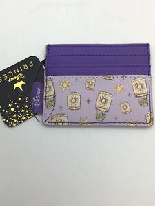 Loungefly Disney Tangled Rapunzel Lanterns - Pascal - Cardholder ID Slim Wallet