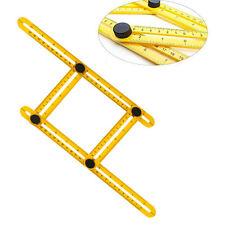Useful Angle-Izer Ultimate Tile & Flooring Template Tool Help Multi-Angle Ruler
