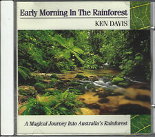 KEN DAVIS Early Morning in the Rainforest CD *NEW AGE Relaxation