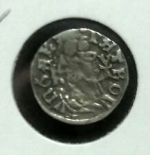 Mathias Corvinus 1490 Silver Denar. King of Hungary