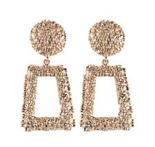Elegant Charm Boho Statement Big Geometric rectangle Drop Dangle Stud Earrings