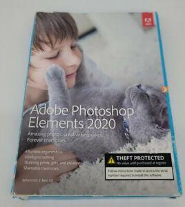 Adobe Photoshop Elements 2020 PC/Mac Disc Version GENUINE US VERSION - BRAND NEW