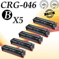 5 PK 046H Laser Toner For Canon CRG046H BK imageCLASS MF735Cdw MF733Cdw 1254C001