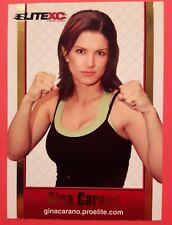 GINA CARANO 2008 ProElite EliteXC:Destiny Event DVD Insert MMA Rookie Card -RARE