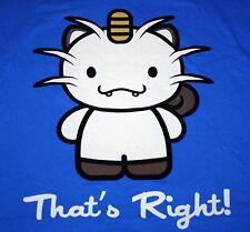 """That's Right!"" Meowth Team Rocket Mashup XXXL Shirt Theyetee"