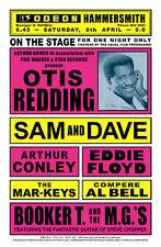 1960's STAX Soul: Otis Redding  & Sam & Dave with Booker T. & MG's Poster 1967