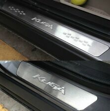 Door sill scuff plate Guards Sills For Ford KUGA 2013 2014 2015 2016 2017