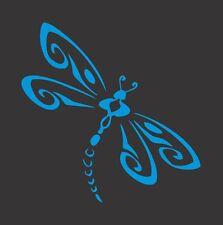 Sky Blue Dragonfly - Die Cut Vinyl Window Decal/Sticker for Car/Truck