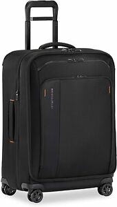 Briggs & Riley ZDX Medium Expandable Spinner Luggage, Black