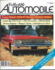 Collectible Automobile Magazine January 1986 Vol 2 - No 5