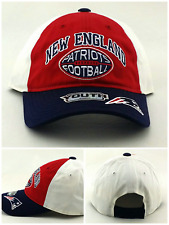 New England Patriots New Reebok Toddler Youth Kids Relaxed Red Blue Era Hat Cap