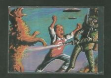1994 Topps Matrix Mars Attacks Trading Card No. 1 of 4 Destroying a Dog NM/MT