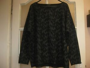 BNWOT ILSE JACOBSEN Womens Black Blouse Size L XL