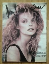 Andy Warhol's Interview Magazine, featuring Michelle Pfeiffer, August 1988