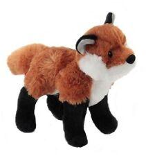 "FRANCINE Red Fox stuffed animal by Douglas 7"" long plush toy"