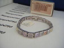 Lia Sophia Red Carpet Pastel Crystal Bracelet Medium Bracelet RV $150 NIB