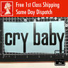"""Cry Baby Wah Effects Pedal Guitar Logo 5"""" Inch Decal Vinyl Project Sticker Case"""