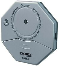 100 ft. Range Door Window Glass Vibration Breakage Sensor Entry Alarm Ultra Slim