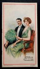 1921 Vintage COLONIAL THEATRE New York VAUDEVILLE Broadway Souvenir Program