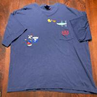Vintage 1996 US Olympics Looney Tunes T-Shirt Tweety & Sylvester, Size XXL