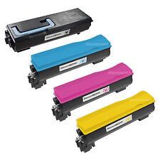4 Pack TK-582K TK582 Black & Color Toner Cartridge for Kyocera Mita FS-C5150DN