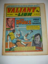 VALIANT And LION comic 15th June 1974.