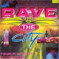 Rave the City (1993) Ech Heftag, Juggernaut, D & F, Vitamin, Euromasters.. [CD]