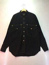 Vintage Versace Denim Style Shirt