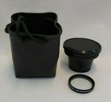 Sony Wide Conversion Lens ×0.6 VCL-0637H 37mm Screw in Wide Angle Soft Case