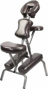 Master Massage BEDFORD Portable Folding lightweight Massage Chair W/ carry case