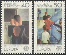 Germany 1975 Europa/Schlemmer/Art/Painting/Artists/Contemporary 2v set (n42094)