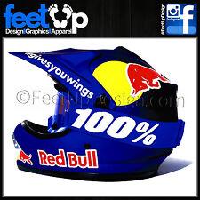 Dani Pedrosa Laminated Decal - Stickers - Graphics kit for Arai MX - Road Helmet