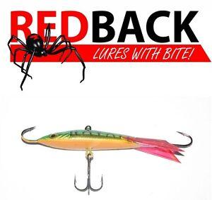 Redback Ice Jigs 32gm /68mm Perch redfin ice- jig fishing lure