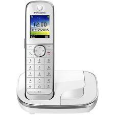 Panasonic KX-TGJ310GW Weiss DECT Schnurlos-Telefon Festnetz Strahlungsarm