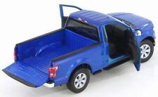 Ford F-150, 2015,  Blue,  Metal, Model, Car, 1/24, G LGB