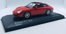 Minichamps 1/43  Porsche 911 Targa 2001 Red 400061060