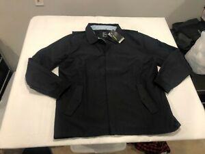 NWT $130.00 Nike Mens Golf Repel Player Jacket Black Size XL