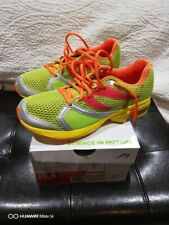 NEW! NEWTON Distance Running Athletic Shoes #00511 Mens Lime/Orange Size 8.5