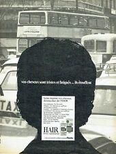 Publicité Advertising 067  1971  Pento   lotion régénératrice Hair cheveux