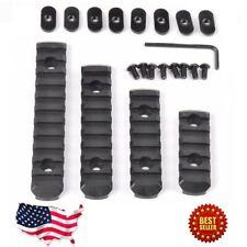 4pcs M-LOK Polymer Rifle Picatinny Weaver Rail Section Set  guard