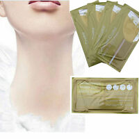 1/5/10PCS Collagen Crystal Moisture Gold Neck Masks Anti Ageing Skin Care Mask
