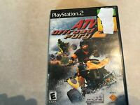ATV Offroad Fury 2 (Sony PlayStation 2, 2002) Cleaned Tested